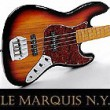 LE MARQUIS N.Y. LM-JBM-SB E-Bass Sunburst Maple-Neck